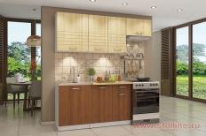 Кухня «Бланка» СТЛ.219 (Яблоня/Красная ольха)