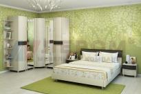 Спальня Дольче Нотте 11 (Дуб Беленый-Комбинированный)