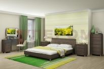 Спальня Дольче Нотте 4 (Дуб Пасадена)