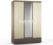 Монако СБ-2144 Шкаф 3-х дверный( 1500x2225x581)