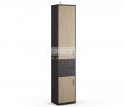 Афина СБ-2232 Шкаф с ящиками(450x2220x353)