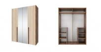 РЕБЕККА шкаф 4-х дверный с зеркалом СТЛ.186.01