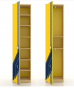 Джинс Шкаф одностворчатый ЛД 507.020 (500х2102х445)