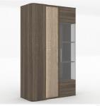 Бруна Шкаф-витрина низкий ЛД 629.040 (1000х1628х476)