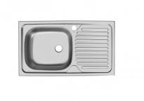 Мойка Юкинокс Классика CLM760.435-5K 2L врезная (левая)(760x435x150)