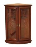 Шкаф для посуды угловой стеклянный «Милан-5»(940*480*480)