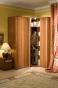 Милана Шкаф для одежды 1 (орех) (798х2113х590)