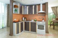 Угловая кухня «Бланка» левая СТЛ.123.00 (Белый/Венге)