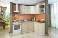 Угловая кухня «Бланка» правая СТЛ.122.00 (Белый/Дуб кремона)