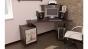 Стол компьютерный «Сэн Сэй-2 (М)» с рисунком венге цава/дуб молочный,правый (1500×1000×1280)