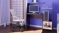 Компьютерный стол «Школьник-Стиль М» с рисунком венге цава/дуб молочный (1180×600×1250)
