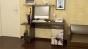 Компьютерный стол «Студент-Стиль М» с рисунком венге цава/дуб молочный (1400×600×1250)