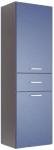 Аватар Пенал навесной K синий металлик 520х345х1620