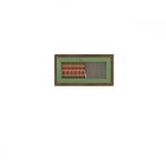 ДИЕГО Витрина горизонтальная СВ-362В(780х420х260) (дуб зеленый)