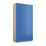 Ларс Шкаф 2-х дверный СВ-91 синий
