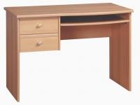 Поп Письменный стол цвет: Ольха медовая kbiu-8-11 1095x600x755
