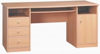 Поп Письменный стол Ольха kbiu-8-16 1600x750x755
