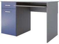 Аватар Стол письменный E синий металлик 1200х600х750