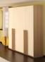 Ивона Шкаф 4-х дверный для платья и белья (1802х2220х596)