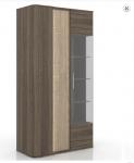 Бруна Шкаф-витрина  ЛД 629.030 (1000х1972х476)
