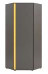 График шкаф угловой SZFN1D (780х1915х785)