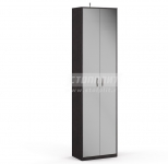Афина СБ-2231 Шкаф 2-х дверный с зеркалом(590x2220x353)