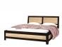КАПРИ Кровать 180 венге магия (1945х2190х356) с ортопедическим основанием Спальное место 1800/2000