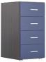 Аватар Комод G синий металлик 520х425х850
