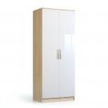 НИКОЛЬ Шкаф 2-х дверный СВ-543 (900Х2228Х581)