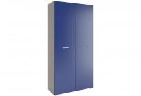 Аватар Шкаф L синий металлик 800х570х2045