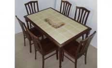 Стол обеденный СТ 3760Р (Тёмный дуб)