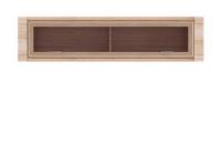 Рафло Полка-витрина цвет: орех салев SFW 1WK 4-15 1520х255х370