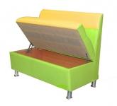 Прямой диван Фиджи 5 МД с коробом