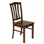 Стул с твёрдым сиденьем СТ 8162 (Тёмный дуб)