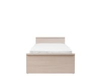 Нумлок Кровать LOZ 90 дуб светлый беллуно/зеленый 950х2055х415/705 Cпальное место 900х2000