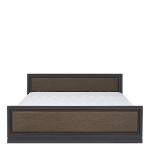 Арека Кровать LOZ Венге 160 с металлическим основанием (1640х2055х465-765) спальное место 1600/2000