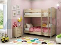 Кровать КР-123 (Дуб Сонома)