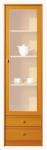Поп Витрина цвет: Ольха медовая матовая kw2s-19-5 МАТОВАЯ (540х400х1985)