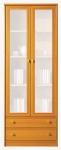 Поп Витрина цвет: Ольха медовая kw2s-19-7 МАТОВАЯ (740х400х1985)