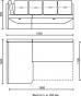 Кухонный уголок Яшма 1