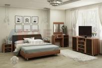 Спальня Камелия 10 (Слива Валлис-Комбинированный)