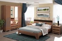 Спальня Мелисса 10 (Слива Валлис-Комбинированный)