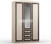 Персей СБ-1984 Шкаф 3-х дверный с ящиками (1350х2178х554)