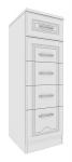 Мальвина-1 13 Комод Размеры 397х450х1202