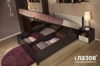 БЕРЛИН Кровать с подъемным механизмом (1400)