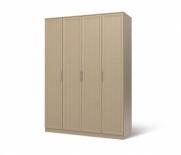 Юлианна Шкаф 4-х дверный СБ-040-01 (1600х2236х590)
