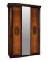 Спальный гарнитур Карина 2 Ярцево, Шкаф 3х створчатый для платья и белья 1 зеркало К2Ш1-3 1537Х585Х2280