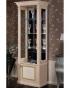 Модульная гостиная Карина 3 Бежевая, Витрина 1-створчатая для посуды правая К3В1-1С 645х510х1966