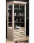 Модульная гостиная Карина 3 Бежевая, Витрина 2-створчатая для посуды К3В1-2С 1080х510х1966
