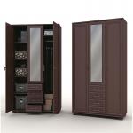 Верди СБ-1437 Шкаф 3-х дверный (1318х2190х580)